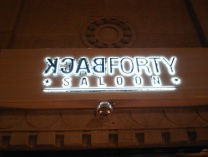 A photo of The BackForty Saloon