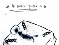 A photo of Let no sunrise´yellow noise