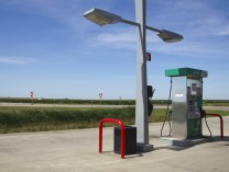 A photo of Gas Station along I-90, South Dakota